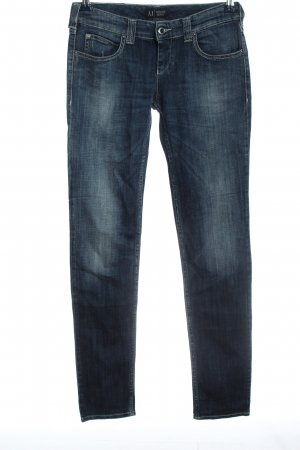 Armani Jeans Tube Jeans blue casual look