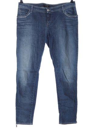 Armani Jeans Jeans cigarette bleu style décontracté