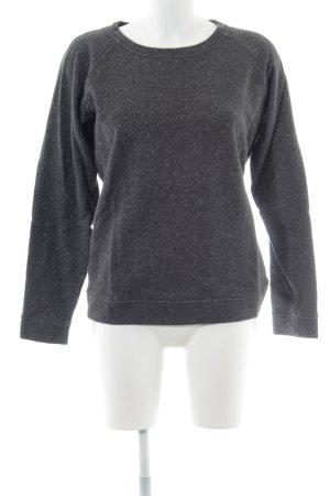 Armani Jeans Rundhalspullover anthrazit-schwarz Casual-Look