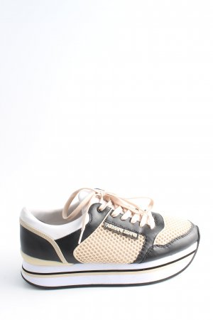 Armani Jeans Lace-Up Sneaker multicolored casual look