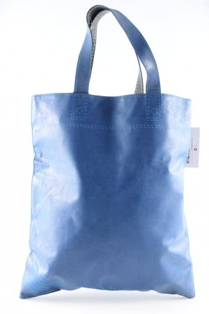 Armani Jeans Shopper bleu lettrage imprimé style décontracté