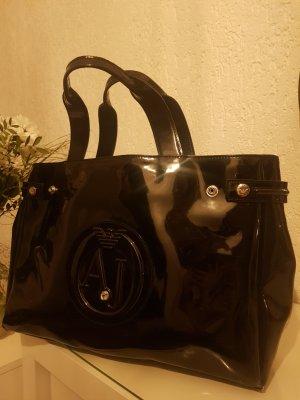 Armani Jeans Shopper in schwarz