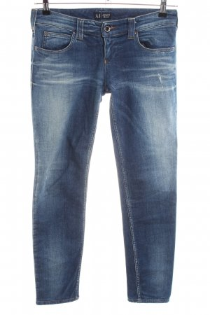 Armani Jeans Skinny Jeans blue casual look
