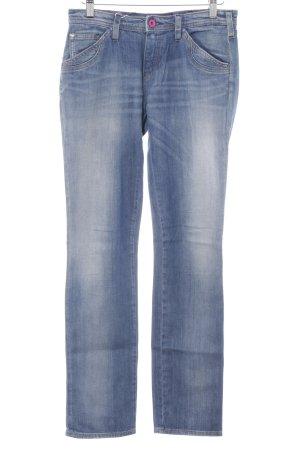 Armani Jeans Skinny Jeans kornblumenblau Casual-Look