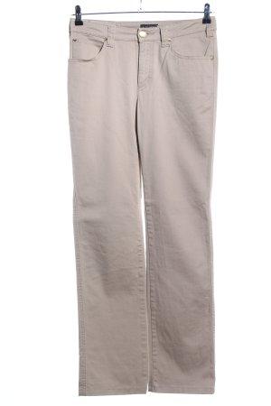 Armani Jeans Slim Jeans cream casual look