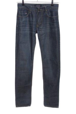 Armani Jeans Jeans slim noir style décontracté