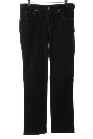Armani Jeans Slim Jeans schwarz Casual-Look