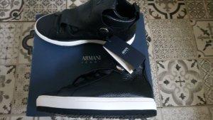 Armani Jeans High Top Sneaker multicolored mixture fibre
