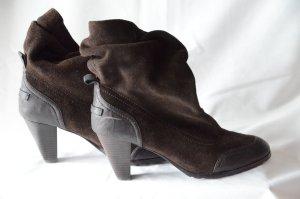 Armani Jeans Slip-on laarzen donkerbruin
