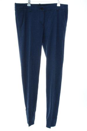 Armani Jeans Stoffhose blau Business-Look