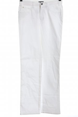 Armani Jeans Stoffhose weiß Casual-Look