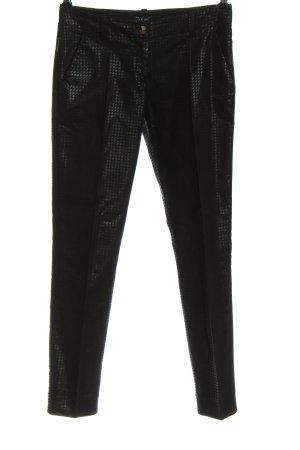 Armani Jeans Stoffen broek zwart casual uitstraling