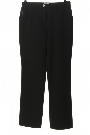 Armani Jeans Stoffhose schwarz Casual-Look