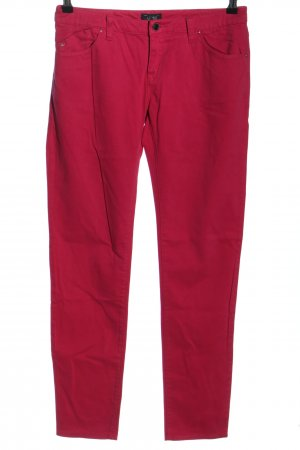 Armani Jeans Stoffhose rot Casual-Look