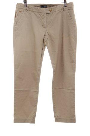 Armani Jeans Stoffhose creme-hellbraun klassischer Stil