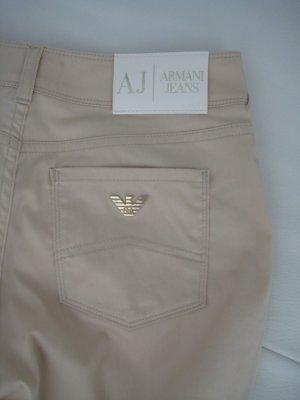 ARMANI Jeans Stoffhose, Gr. 26, beige, NEU