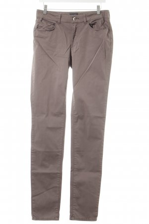 Armani Jeans Stoffhose graubraun Street-Fashion-Look