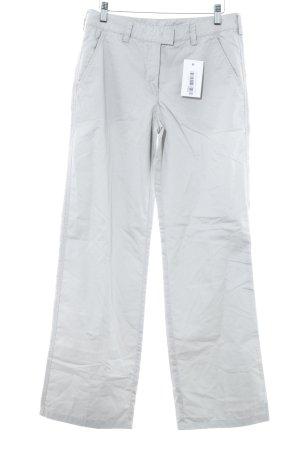 Armani Jeans Stoffhose hellgrau schlichter Stil