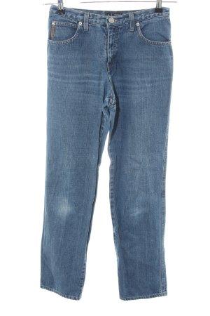 Armani Jeans Straight-Leg Jeans blau Casual-Look