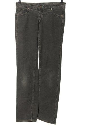 Armani Jeans Jeansy z prostymi nogawkami czarny W stylu casual