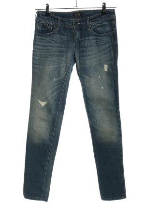 Armani Jeans Jeansy z prostymi nogawkami niebieski Wygląd w stylu miejskim