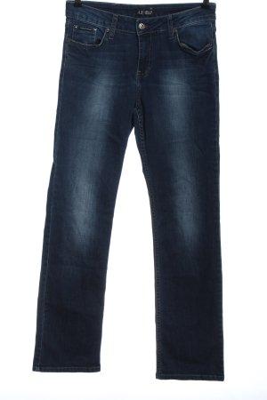 Armani Jeans Jeans met rechte pijpen blauw casual uitstraling