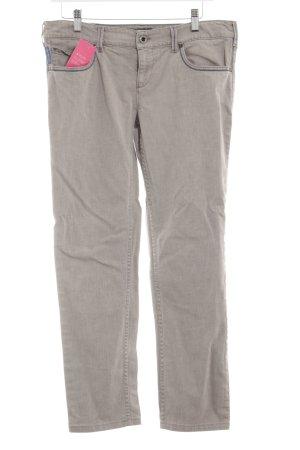 Armani Jeans Straight-Leg Jeans grüngrau Casual-Look