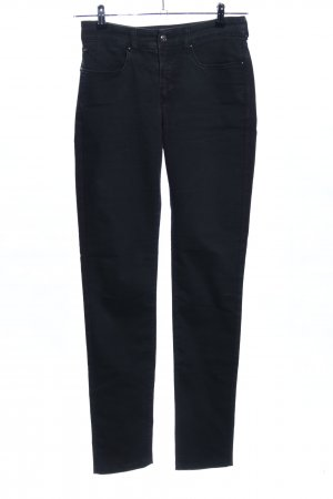 Armani Jeans Stretch Jeans schwarz Casual-Look