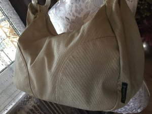 Armani Jeans Handbag silver-colored imitation leather