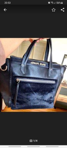 Armani Handtas donkerblauw