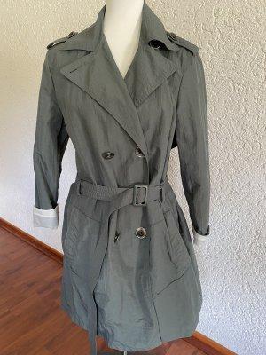 Armani Jeans * Trenchcoat * Khaki * Gr 44 * Vintage