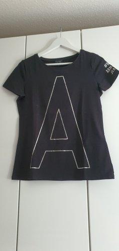 Armani Jeans Camicia fantasia bianco-nero