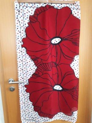 Armani Jeans Neckerchief white-dark red modal fibre