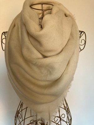Armani Jeans Bufanda de lana crema