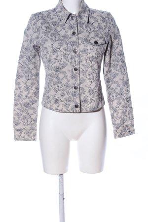 Armani Jeans Veste mi-saison blanc cassé-bleu imprimé allover