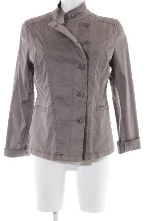 Armani Jeans Übergangsjacke graubraun Casual-Look