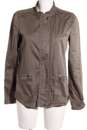 Armani Jeans Übergangsjacke graubraun-grüngrau Casual-Look