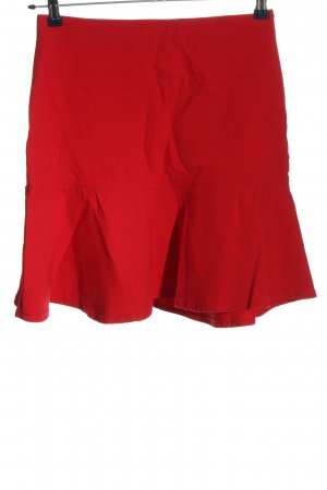 Armani Jeans Volantrock rot Casual-Look