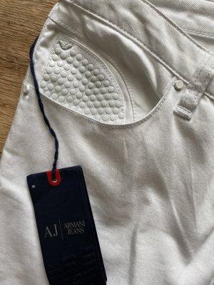 Armani Jeans weiß regulär fit