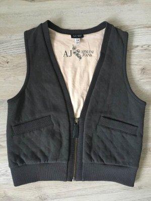 Armani Jeans Gilet tricoté multicolore coton
