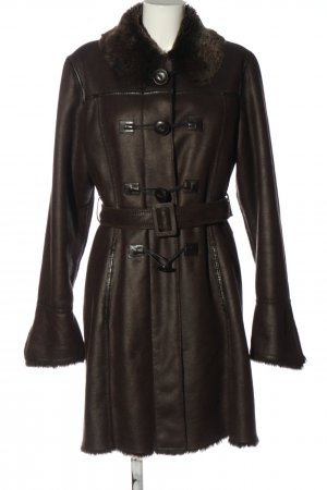 Armani Jeans Winter Coat brown casual look