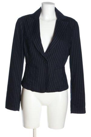 Armani Jeans Blazer en laine motif rayé style décontracté