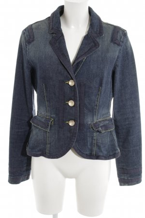 Armani Denim Blazer blue casual look