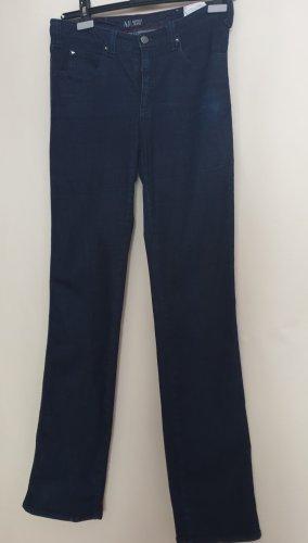 Armani Slim jeans donkerblauw Katoen