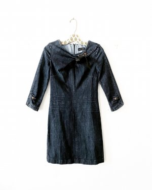 Armani • jeanskleid • denim dress • bleistiftkleid • etuikleid