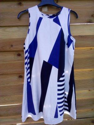 Armani Mini Dress white-blue