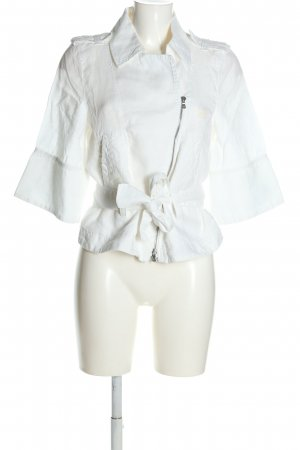 Armani Blazer corto bianco stile casual