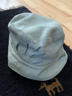 Armani Exchange Sun Hat baby blue-light blue leather