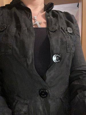 Armani Korte blazer zwart