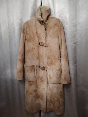 ARMANI Mantel Fell/Leder fake fur